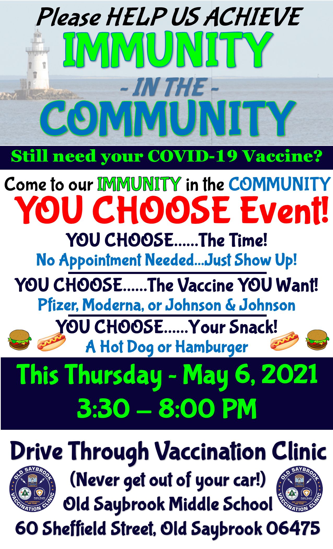 Immunity in the Community - You Choose EVENT